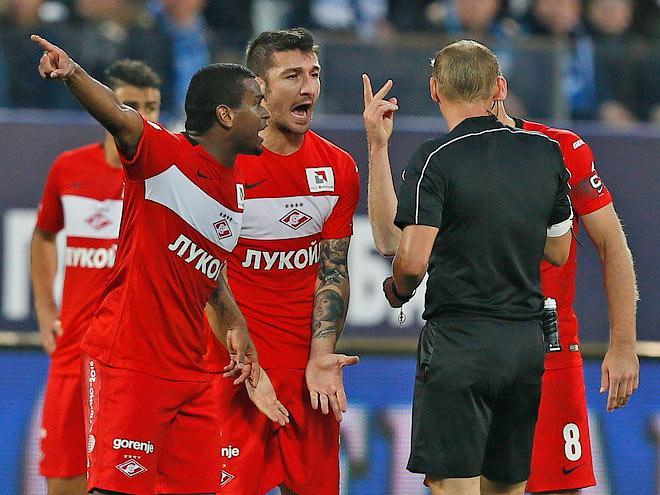 «Зенит» выиграл у московского «Спартака» в Санкт-Петербурге со счётом 4:2