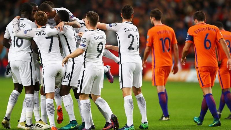 Команда Дешама играла  на выезде против голландцев, как с безнадежным аутсайдером.